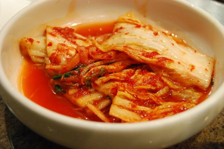 Kimchi-Zutaten