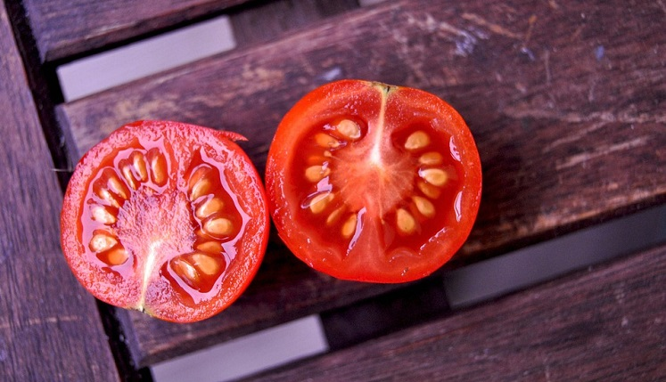 Rohe Tomaten