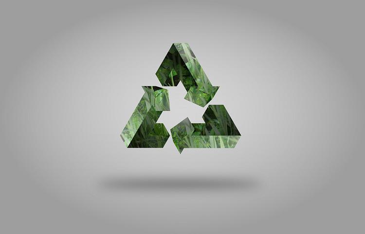 grünes Dreieck